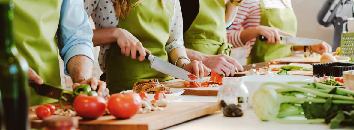 Talleres de cocina saludable yquecomo for Cocina saludable