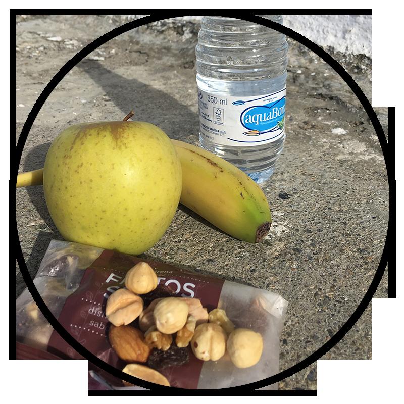 Comidas de dietas para adelgazar en el tentempié para no pasar hambre